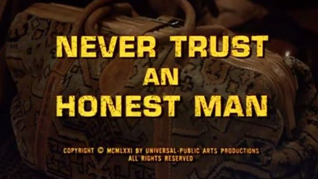 "Alias Smith & Jones ""Never Trust An Honest Man"" S01 E14"