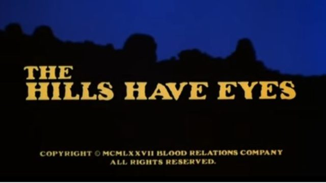 The Hills Have Eyes 1977