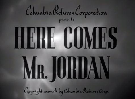 Here Comes Mr Jordan 1941