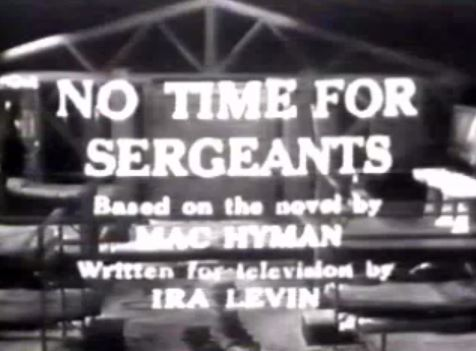 No Time for Sergeants 1955