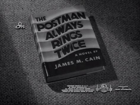 The Postman Always Rings Twice 1946