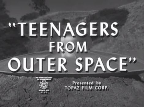 Teenagers from Outer Space 1959