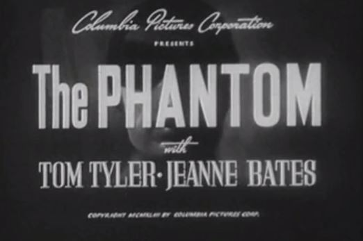 The Phantom Serial 1943 – 15 Chapters